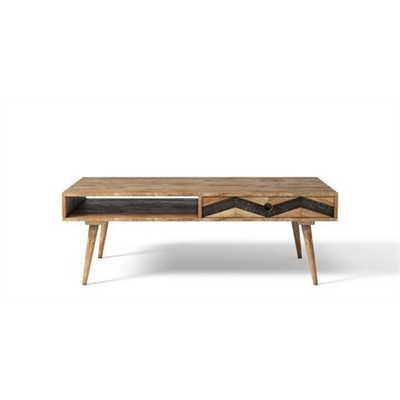 Potter Coffee Table Natural Solid Mango Wood
