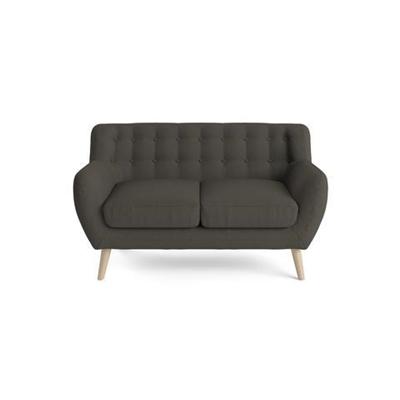 Shelly 2 Seater Sofa Dark Gull Grey