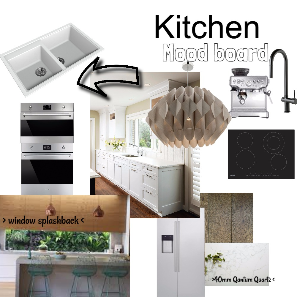 Kitchen Interior Design Mood Board by Northern Beaches Styling on Style Sourcebook