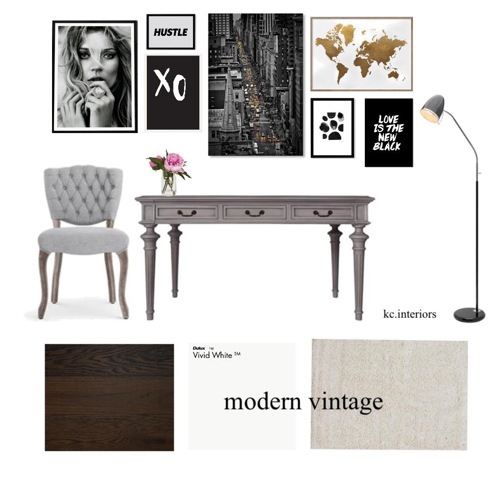 Modern vintage Interior Design Mood Board by kcinteriors on Style Sourcebook