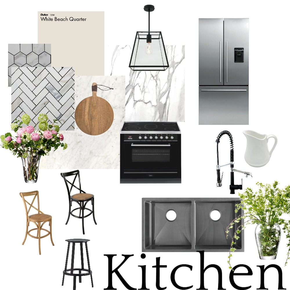 Classic Kitchen Interior Design Mood Board by LauraMcPhee on Style Sourcebook