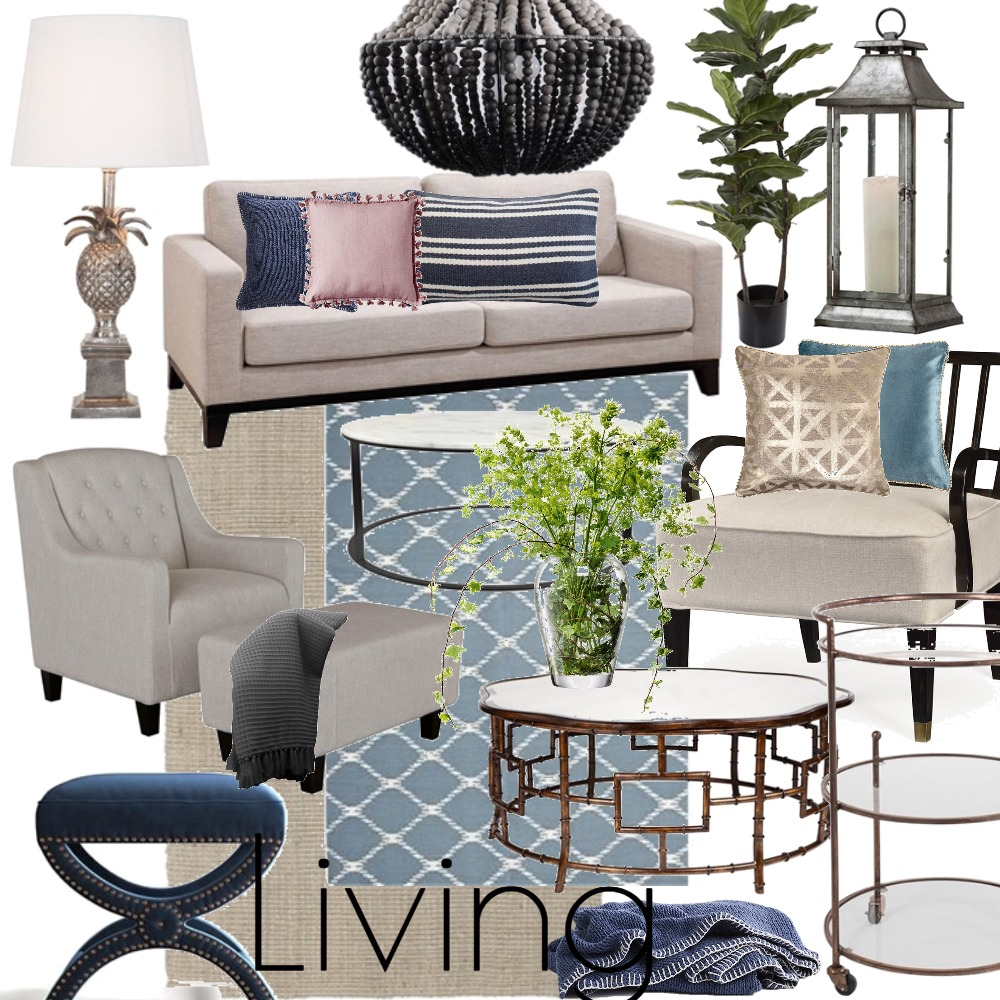 Lux Living Room Interior Design Mood Board by LauraMcPhee on Style Sourcebook