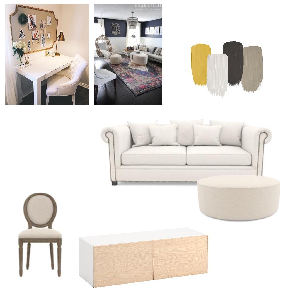Module 6 teenage den 2 Interior Design Mood Board by Jesssawyerinteriordesign on Style Sourcebook