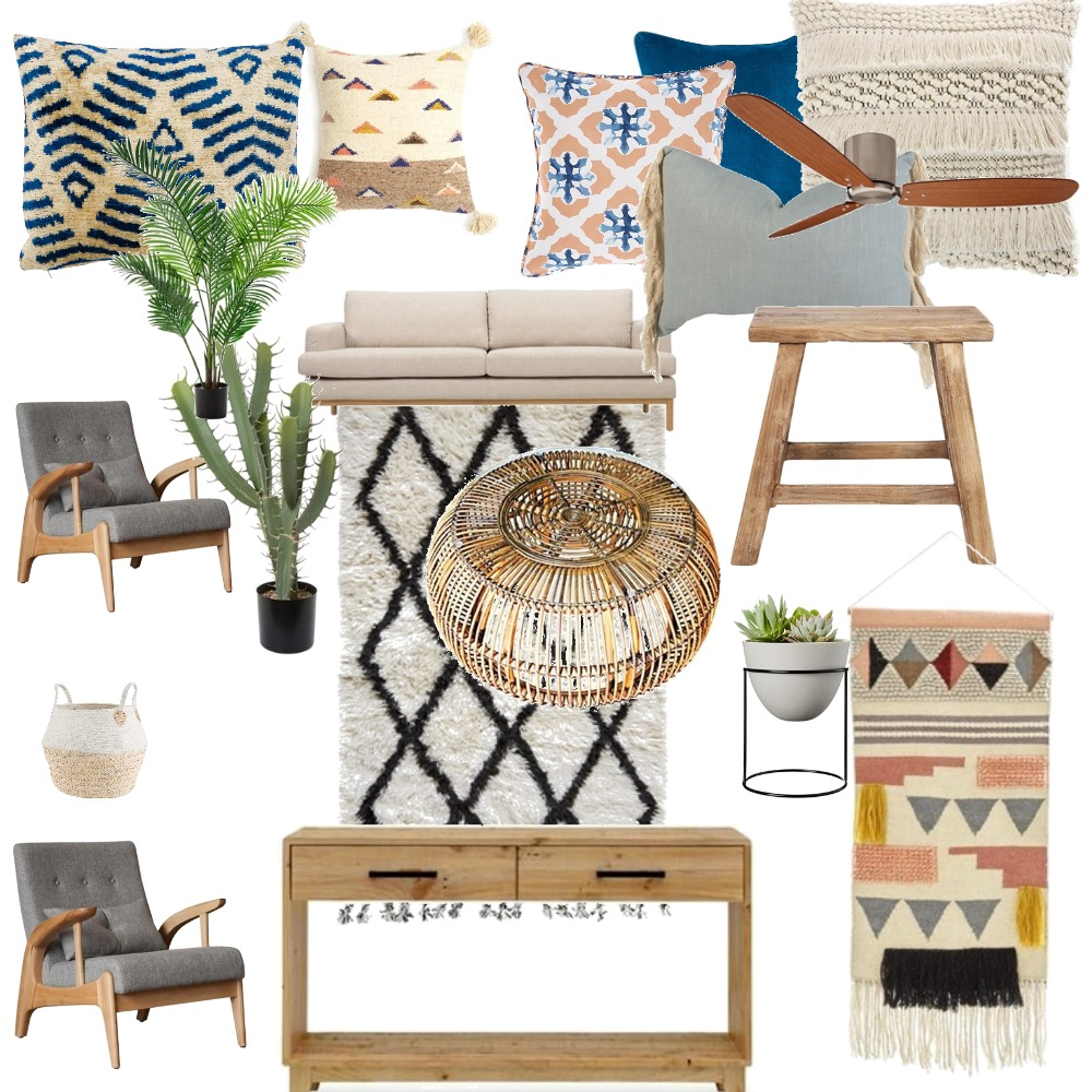 Living room Interior Design Mood Board by ginawhitten on Style Sourcebook