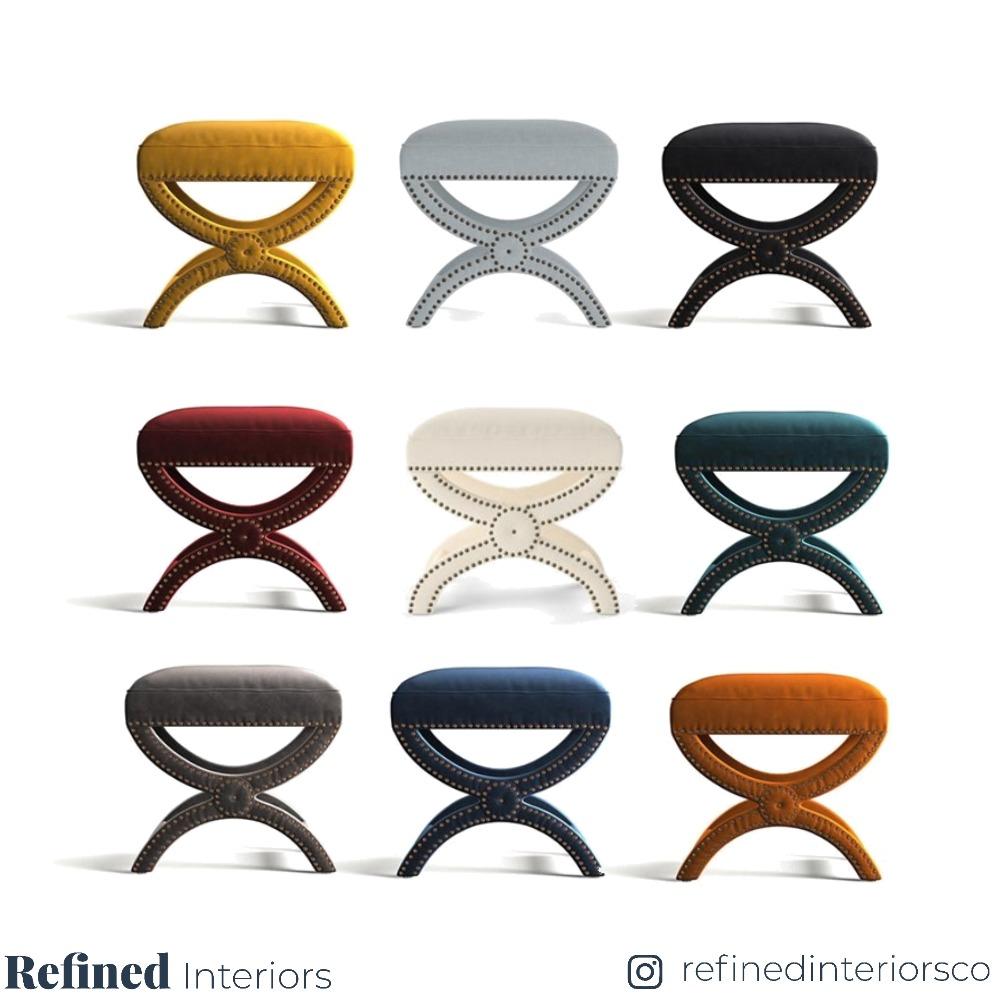 Portobello Footstool Favourites Interior Design Mood Board by RefinedInteriors on Style Sourcebook