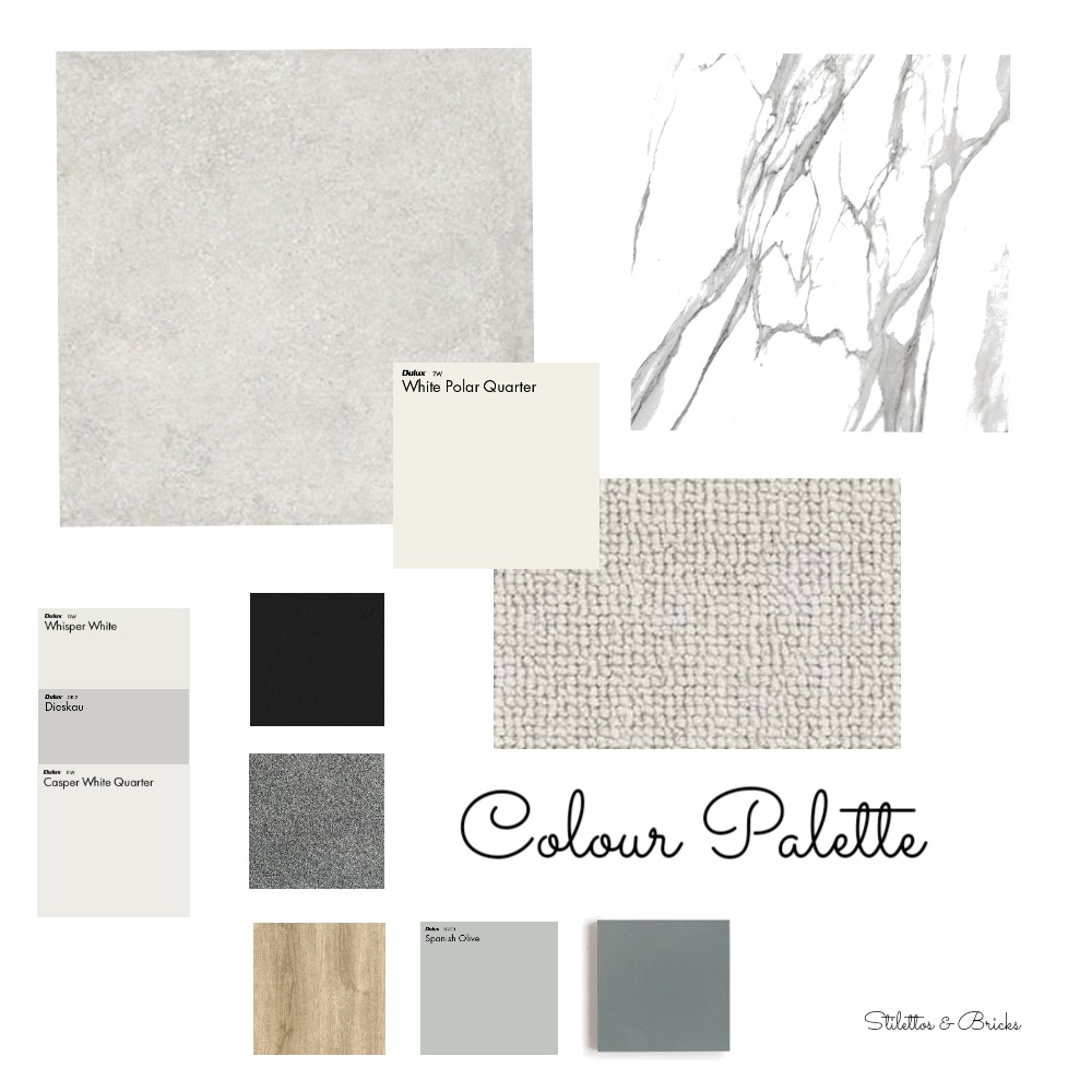 Colour Palette Interior Design Mood Board by stilettosbricks on Style Sourcebook