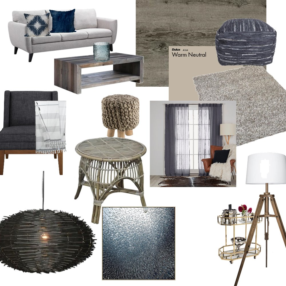 Cool to warm Interior Design Mood Board by Vjmueller on Style Sourcebook