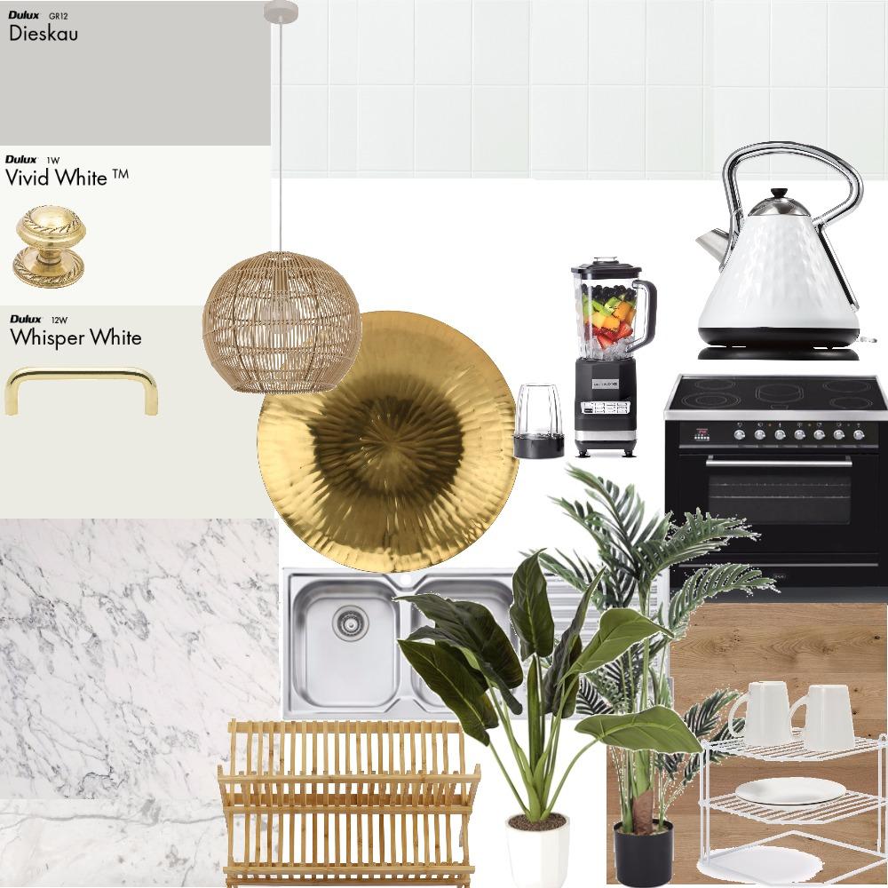Coastal Kitchen Interior Design Mood Board by vadixon on Style Sourcebook