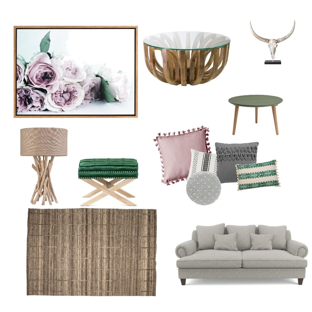 calm living room Interior Design Mood Board by cynthiahealeynz on Style Sourcebook