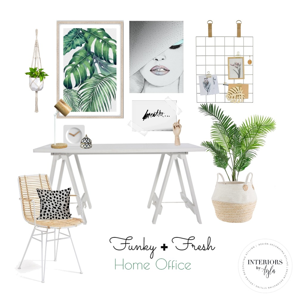 Home Office Interior Design Mood Board by interiorsbyayla on Style Sourcebook