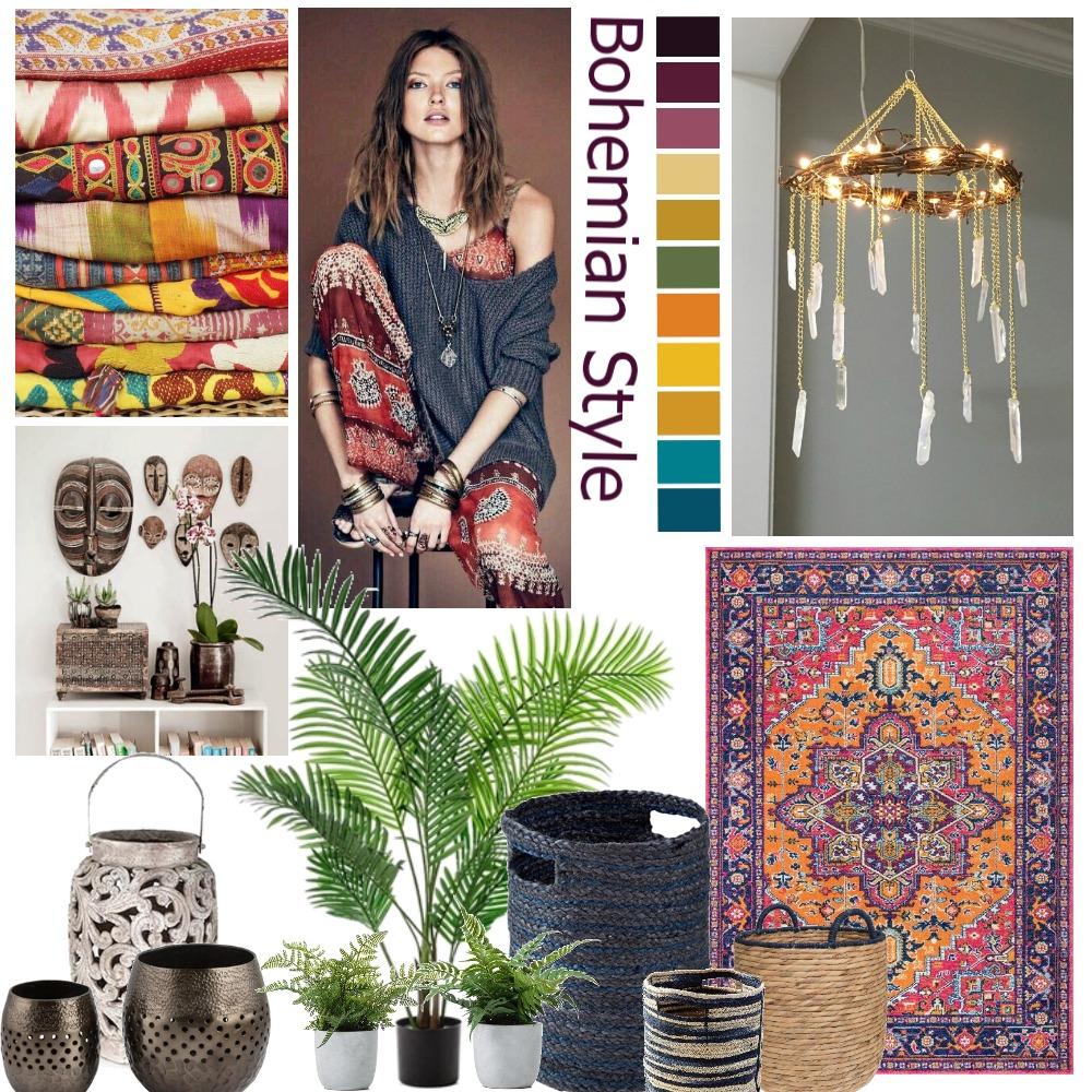 Bohemian Mood Interior Design Mood Board by EMa on Style Sourcebook