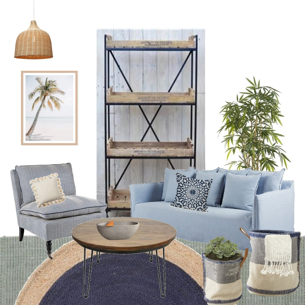Blue Dayz Interior Design Mood Board by GraceYourSpace on Style Sourcebook