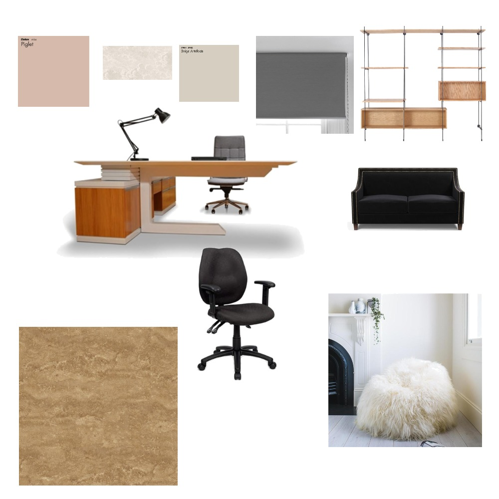 Study area Interior Design Mood Board by Titilayo on Style Sourcebook