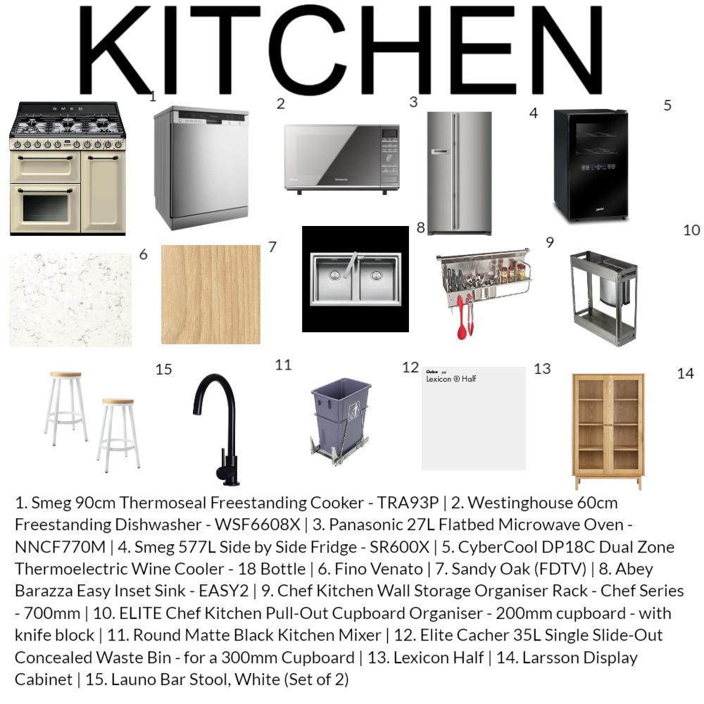 MOD 9 KITCHEN Interior Design Mood Board by rishabhgulati78 on Style Sourcebook