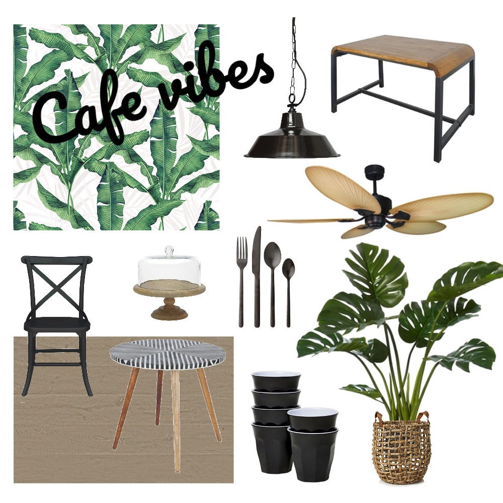 Café Interior Design Mood Board by PetrolBlueDesign on Style Sourcebook