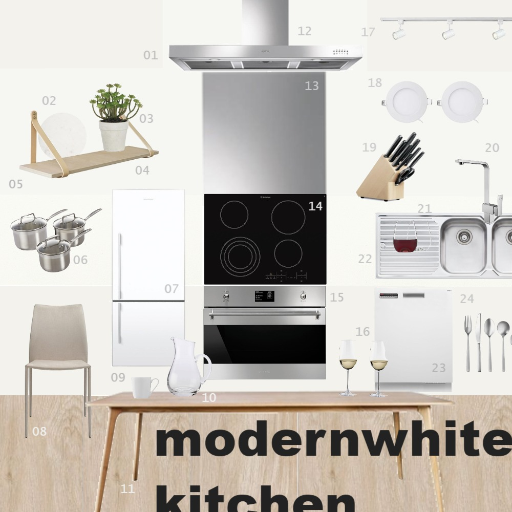 Mod 10 Kitchen Sample Interior Design Mood Board by llanlan91 on Style Sourcebook