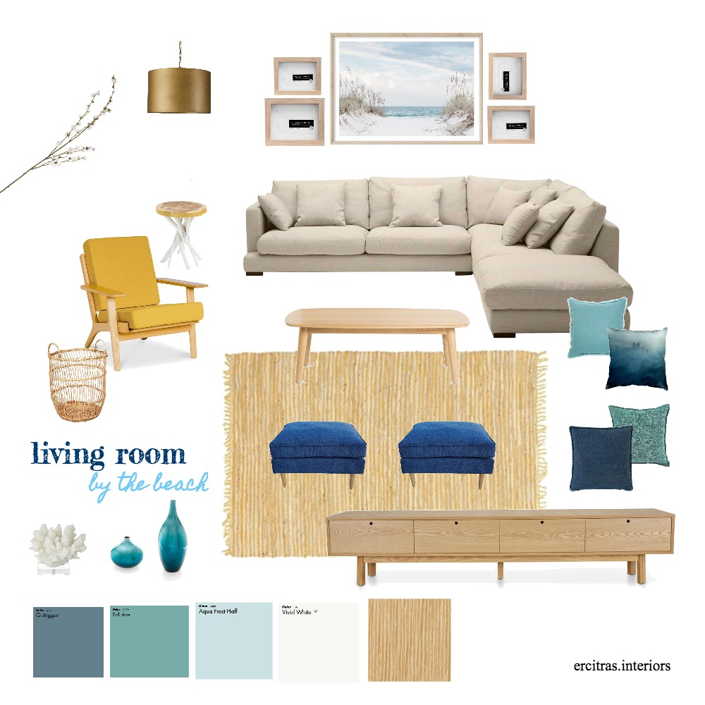 Edithvale Townhouse Interior Design Mood Board by KUTATA Interior Styling on Style Sourcebook