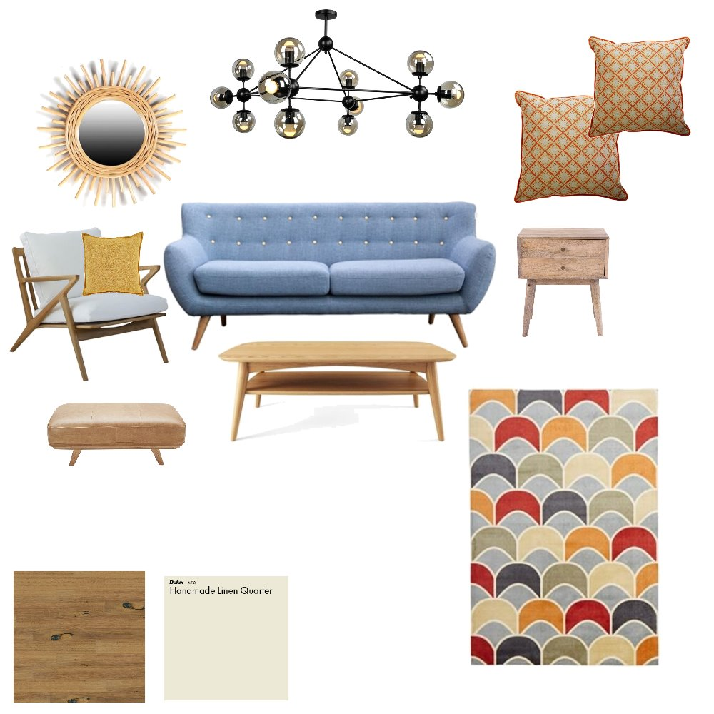 Becky's Living room Interior Design Mood Board by SonyaJ on Style Sourcebook