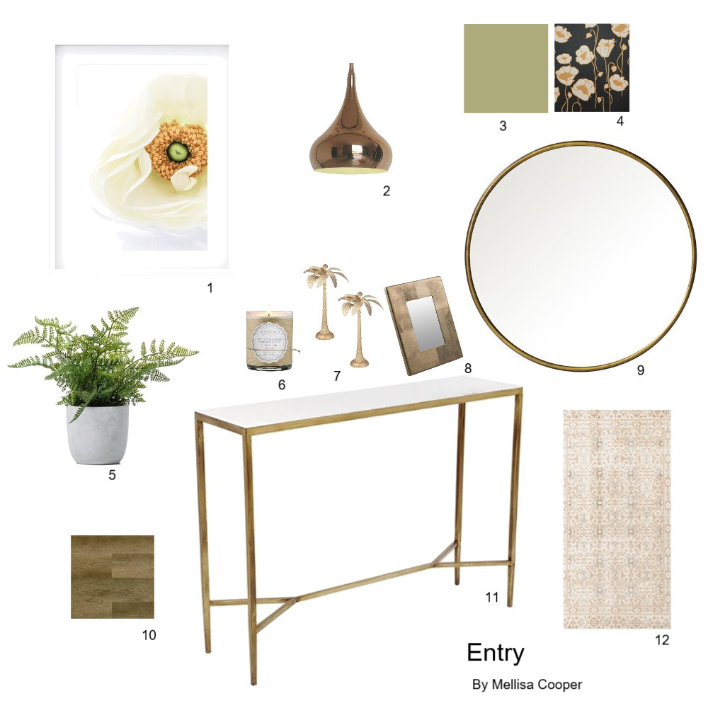 entry Interior Design Mood Board by mellisa.cooper on Style Sourcebook