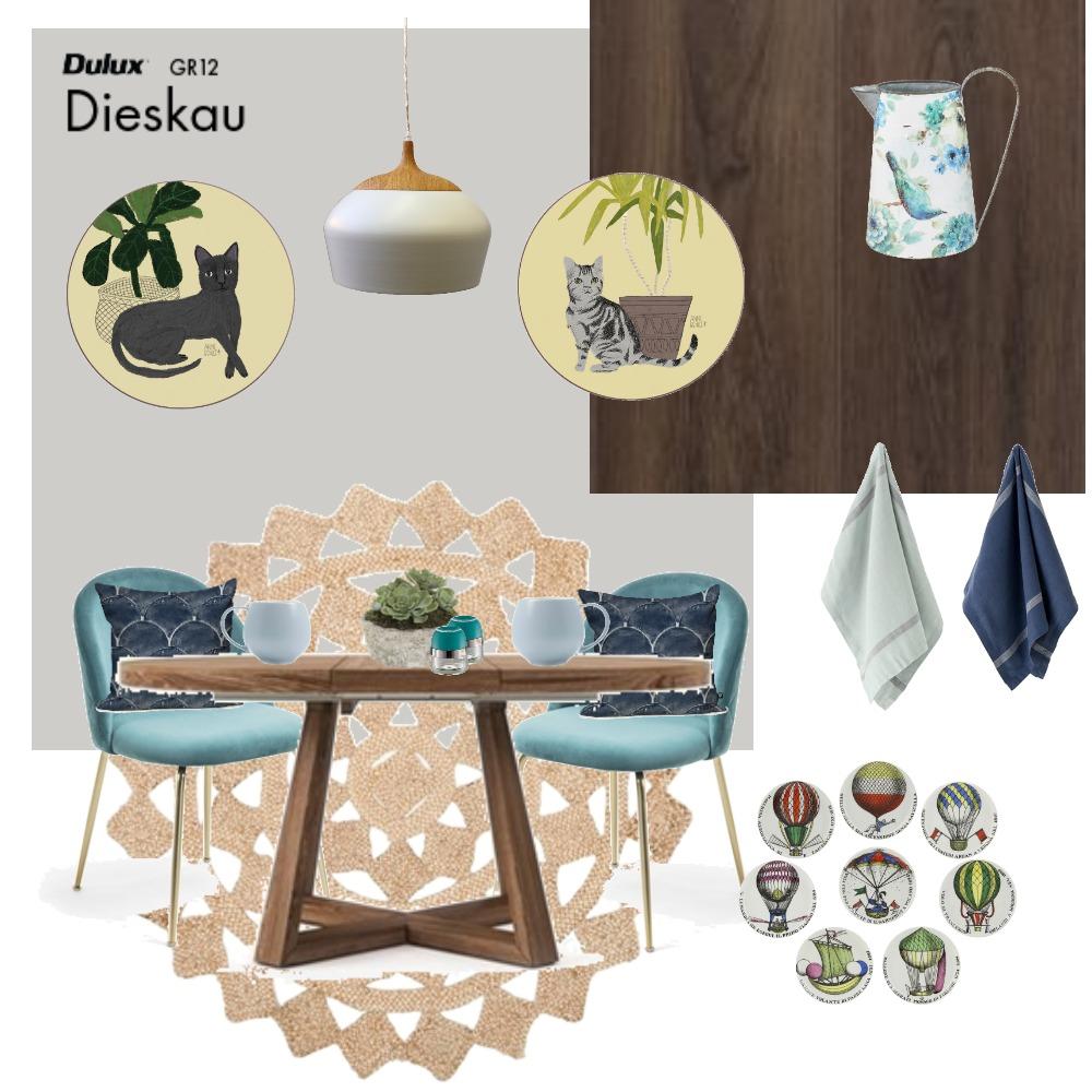 Breakfast Nook Interior Design Mood Board by kelseawall on Style Sourcebook