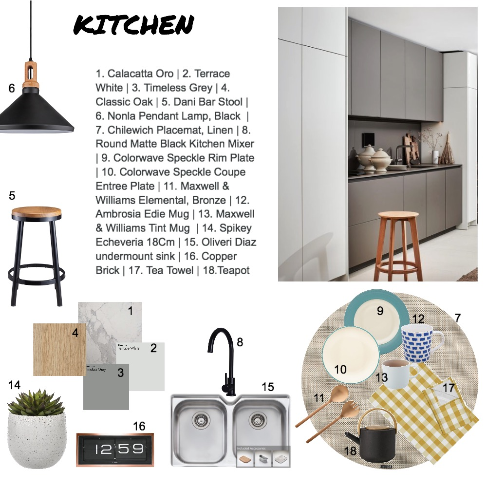 Kitchen Interior Design Mood Board by Meitricia on Style Sourcebook