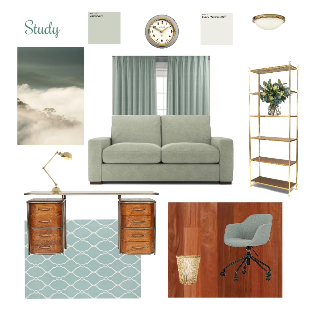 Study Interior Design Mood Board by Jazz on Style Sourcebook