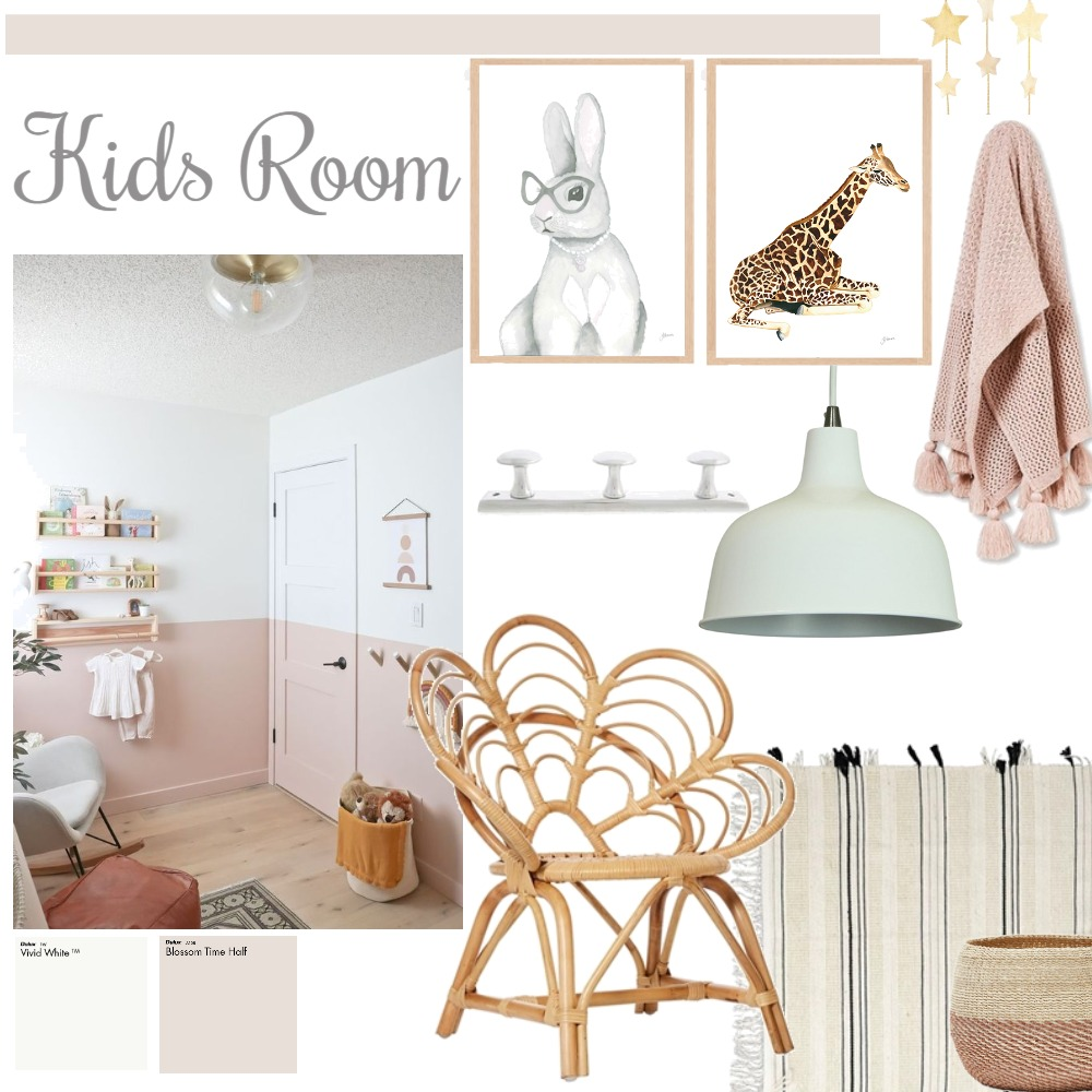 kids Interior Design Mood Board by AGVE ESTUDIO on Style Sourcebook