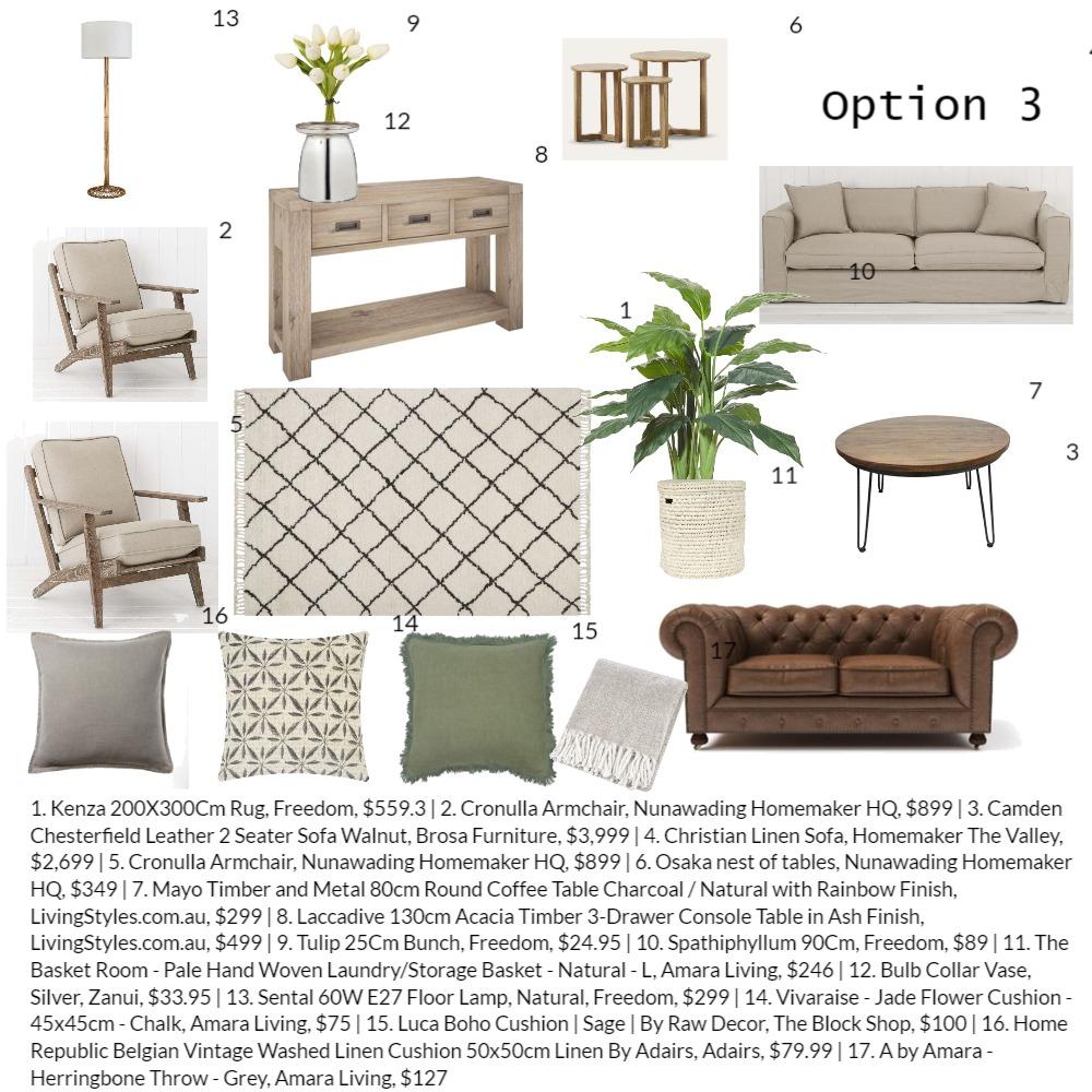 Carol option 3 Interior Design Mood Board by Perla Interiors on Style Sourcebook