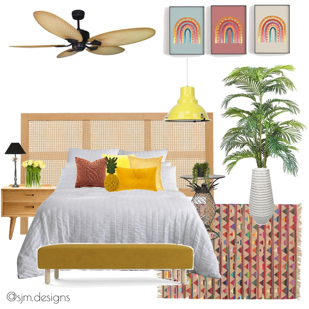 Tween Girls Room Interior Design Mood Board by Shanna McLean on Style Sourcebook
