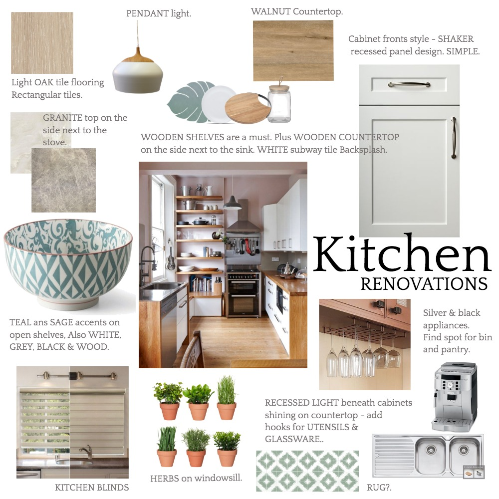 Wansford Kitchen Mood 2 Interior Design Mood Board by Zambe on Style Sourcebook