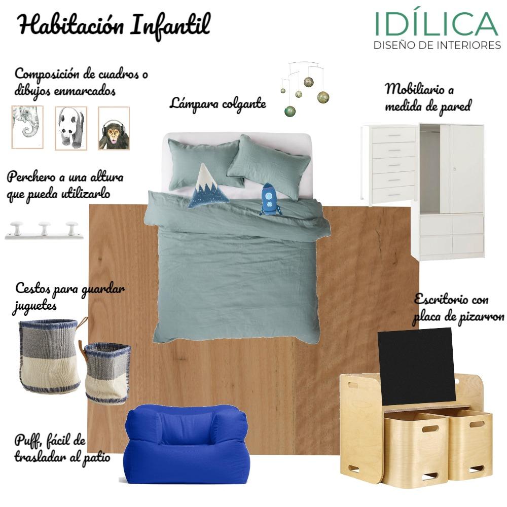 Habitación Infantil - A2 Interior Design Mood Board by idilica on Style Sourcebook