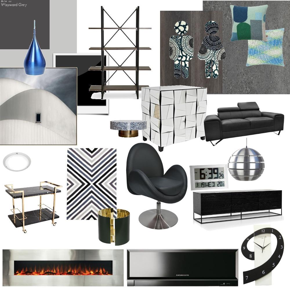 High Tech estilo Interior Design Mood Board by miriancastilho on Style Sourcebook