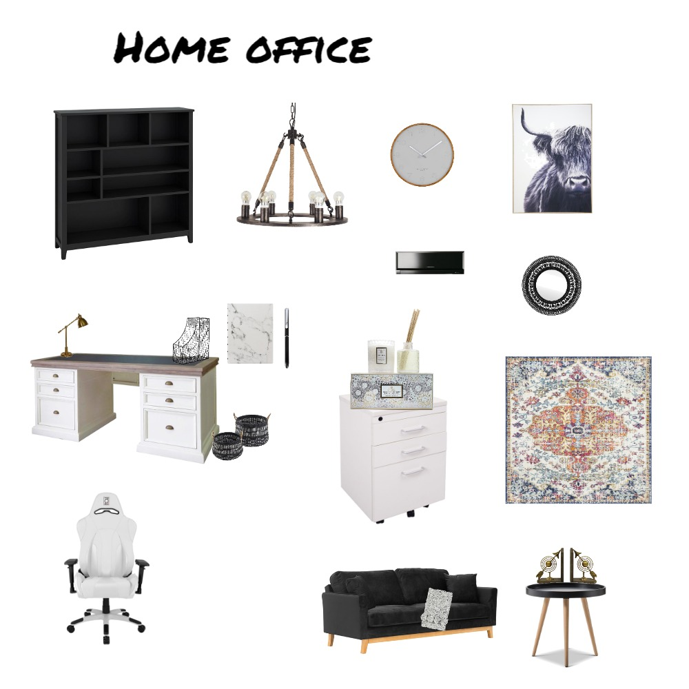 Home Office Interior Design Mood Board by Nosipho Kadeni on Style Sourcebook