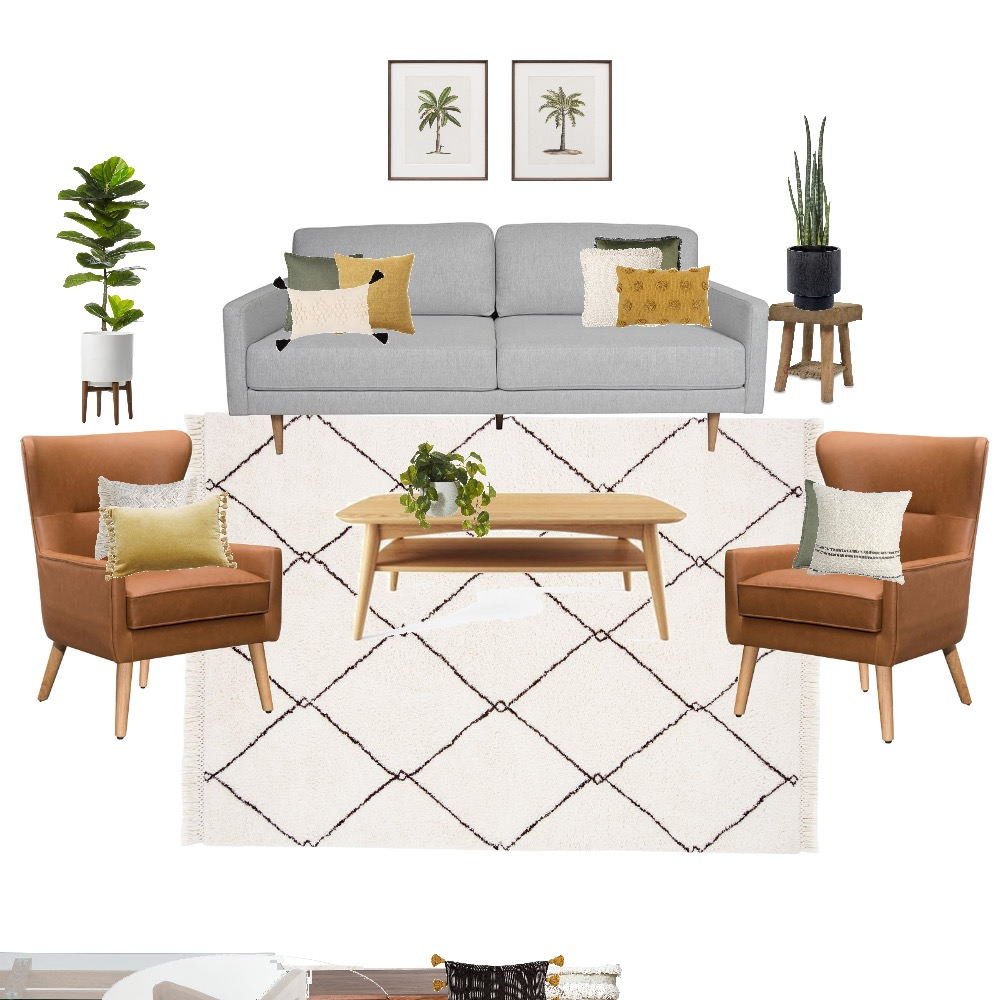 Living room - actual 3 oak Interior Design Mood Board by tahliacawley on Style Sourcebook