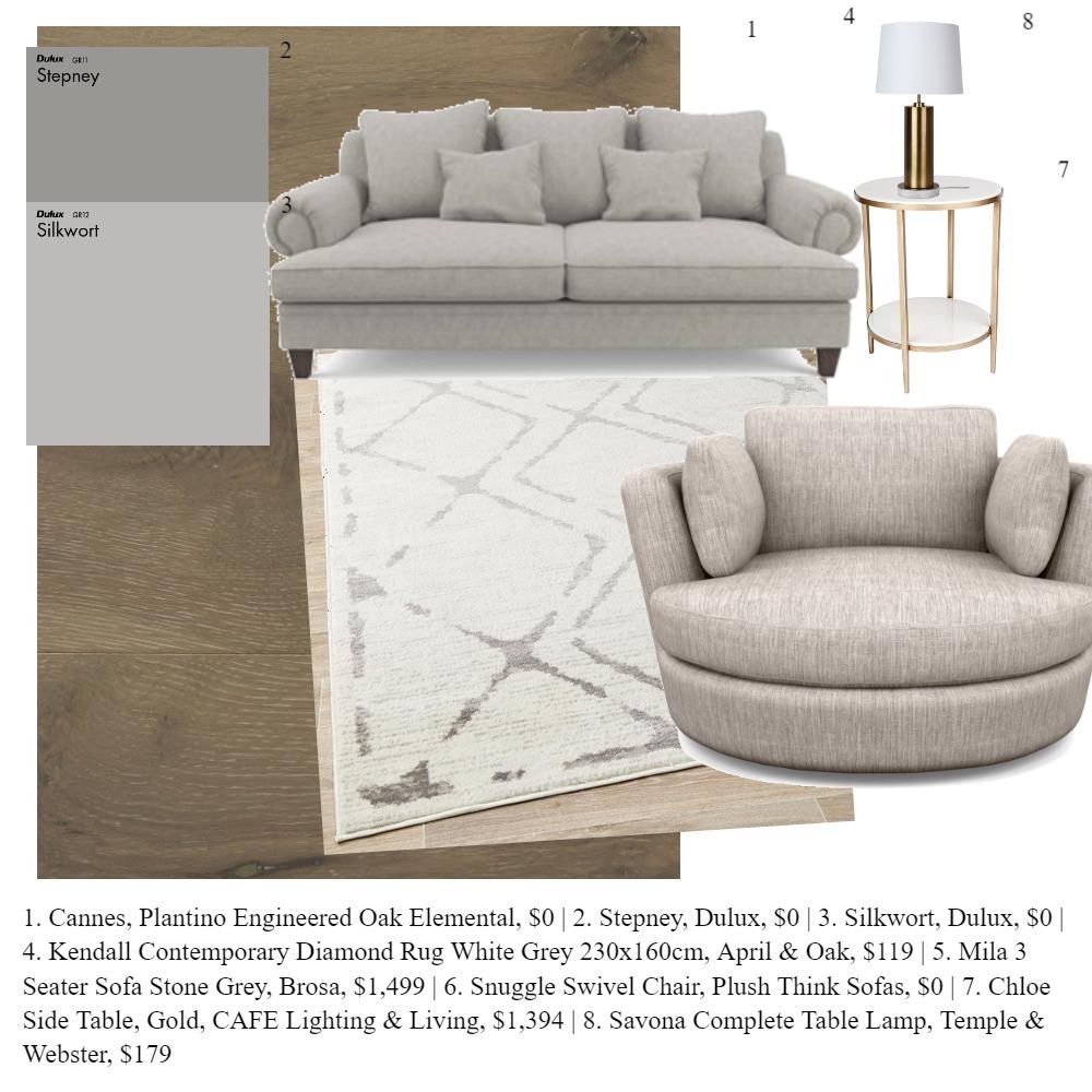 Living room Interior Design Mood Board by CassandraDowlan on Style Sourcebook