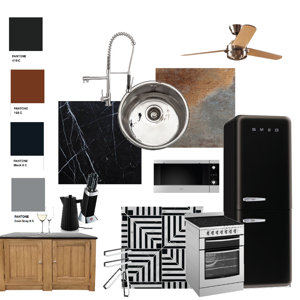 INTERIOR DESIGN FINAL PROJECT KITCHEN Interior Design Mood Board by epppel on Style Sourcebook