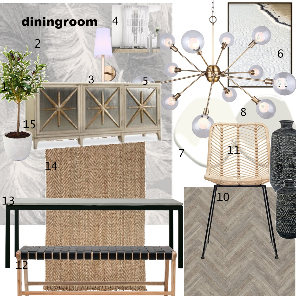 diningroom Interior Design Mood Board by candacereidt on Style Sourcebook