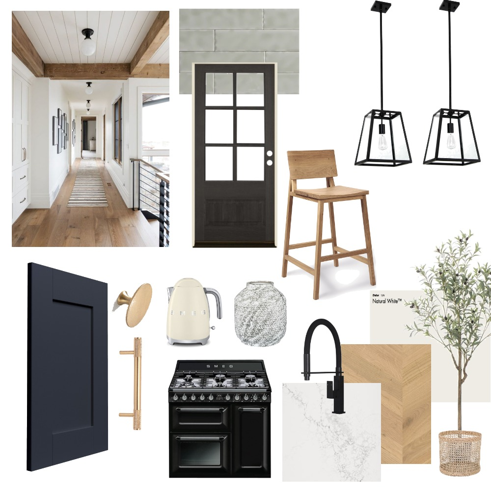 Modern Farmhouse Kitchen Renovation Interior Design Mood Board by Eliza Grace Interiors on Style Sourcebook
