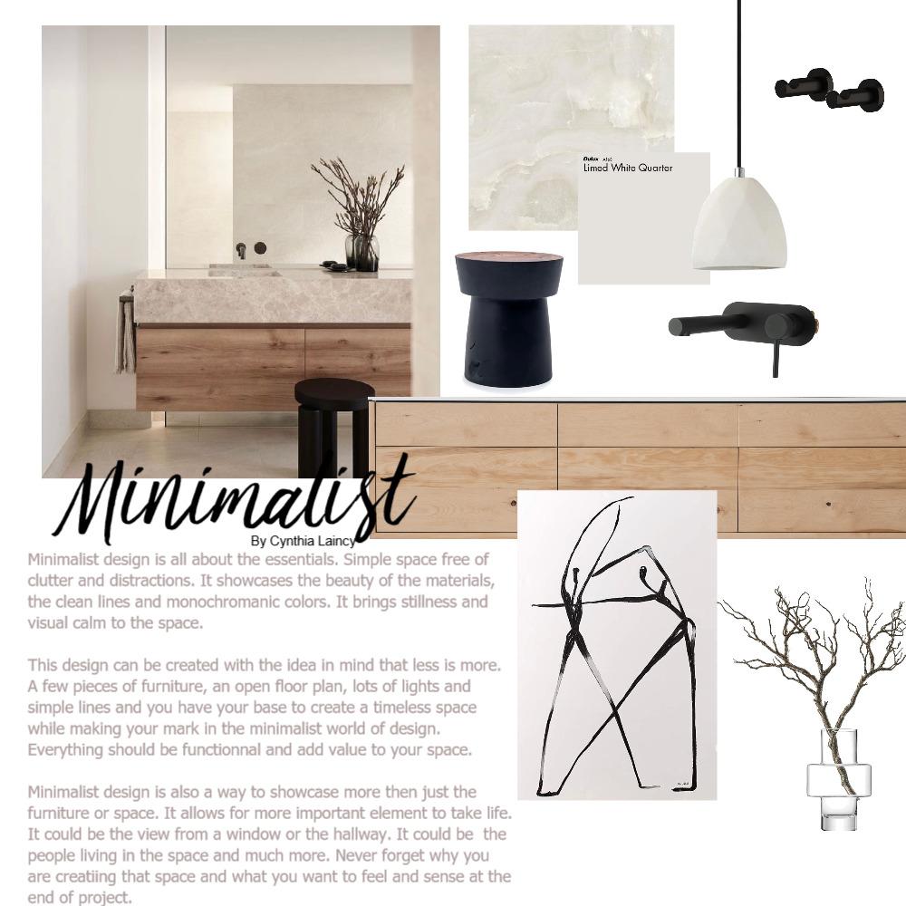 Minimalist Design Interior Design Mood Board by CynthiaLaincy on Style Sourcebook